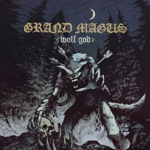 Grand Magus - Wolf God (CD Cover Artwork)