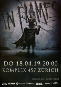 In Flames - Komplex 457 Zürich (Flyer)