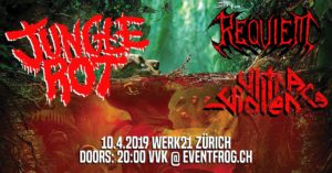 Jungle Rot - Werk 21 Zürich 2019