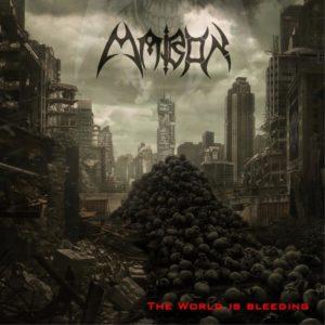 Mabon – The World Is Bleeding (CD Cover Artwork)