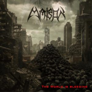 Mabon – The World Is Bleeding (CD Cover Artwork)