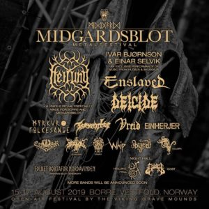 Midgardsblot Metalfestival 2019