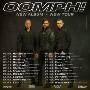 Oomph! - Tour 2019 - Kofmehl Solothurn