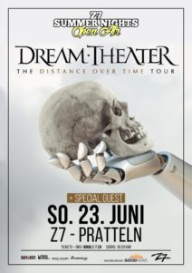 Z7 Summer Nights - Dream Theater - Z7 Pratteln 2019 (Flyer)