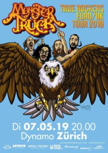 Monster Truck - Dynamo Zürich 2019 (Flyer)