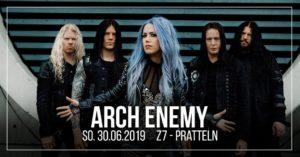 Arch Enemy - Z7 Pratteln 2019