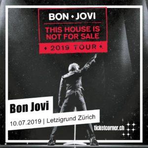 Bon Jovi - Letzigrund Zürich 2019