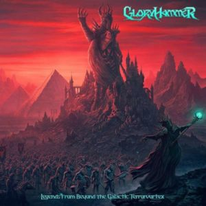 Gloryhammer - Legends from beyond the galactic terrorvortex (CD Cover Artwork)
