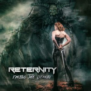 Reternity - Facing the Demon (CD Cover Artwork)