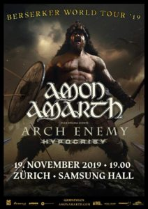 Amon Amarth - Samsung Hall 2019 (Flyer)