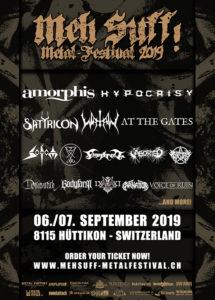 Meh Suff! Metal Festival 2019 (Flyer)