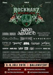 Rockharz Open Air 2019 - Ballenstedt D (Flyer)