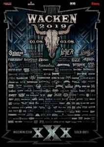 Wacken Open Air 2019 (Flyer)
