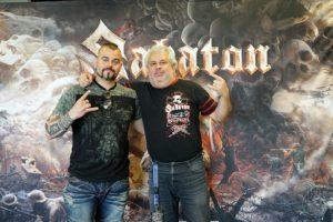 Metalinside.ch - Sabaton - Interview Joakim Brodén 2019 - Foto pam