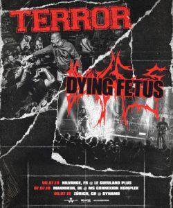Terror - Dynamo Zürich 2019 (Plakat)