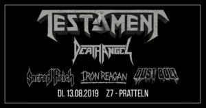 Testament - Z7 Pratteln 2019