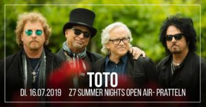 Z7 Summer Nights Open Air - Toto - 2019