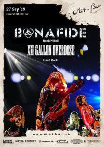 Bonafide - Met-Bar Lenzburg 2019 (Flyer)