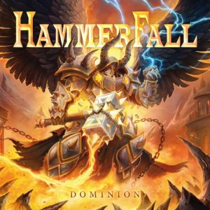 HammerFall - Dominion (CD Cover Artwork)