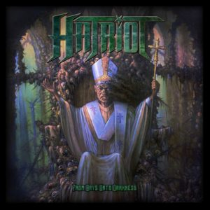 Hatriot – From Days Unto Darkness (CD Cover Artwork)