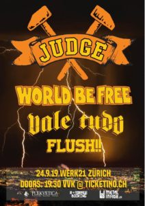 Judge - Werk21 Zürich 2019 (Flyer)