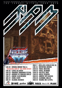 RAM - Gaswerk Winterthur 2019 (Flyer Europa Tour)