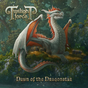 Twilight Force - Dawn Of The Dragonstar (CD Cover Artwork)