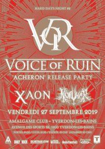 Voice Of Ruin - L'Amalgame Yverdon-les-Bains 2019
