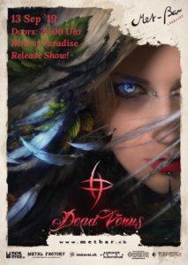 Dead Venus - Met-Bar Lenzburg 2019 (Flyer)