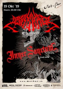 Devils Rage - Met-Bar Lenzburg 2019 (Flyer)