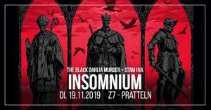 Insomnium - Z7 Pratteln 2019