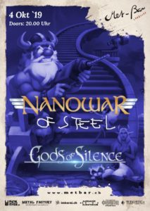 NanowaR Of Steel - Met-Bar Lenzburg 2019 (Flyer)