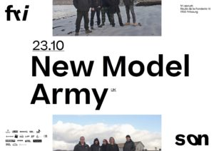 New Model Army - Fri-Son Fribourg 2019