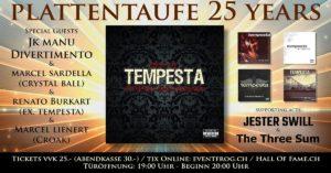 Tempesta (Plattentaufe) - Hall of Fame Wetzikon 2019
