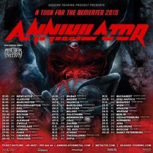 Annihilator - Tour 2019