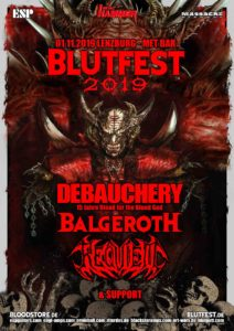 Debauchery, Balgeroth - Met-Bar Lenzburg 2019