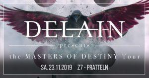 Delain - Z7 Pratteln 2019