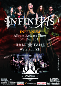 Infinitias - Hall of Fame Wetzikon 2019 (Flyer)