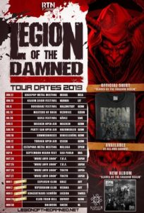 Legion of the Damned - Schüür Luzern - Tour 2019