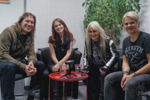 Metalinside.ch - Interview mit Fabienne Erni und Doro - mit Liane und pam - 2019