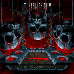 Mortal Infinity - In Cold Blood (CD Cover Artwork)