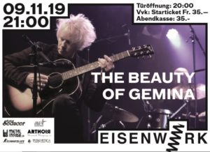 The Beauty of Gemina - Eisenwerk Frauenfeld 2019