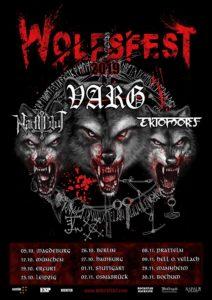 Wolfsfest Tour 2019 - Varg