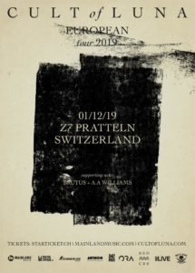 Cult of Luna - Z7 Pratteln 2019 (Flyer)
