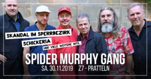 Spider Murphy Gang - Z7 Pratteln 2019