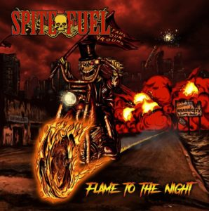 SpiteFuel - Flame To The Night (CD Cover Artwork)
