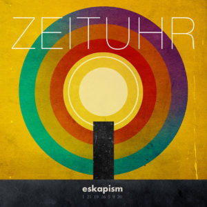 Zeituhr - Eskapism (CD Cover Artwork)