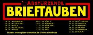 Abstürzende Brieftauben - Tour 2019 - Dynamo Zürich