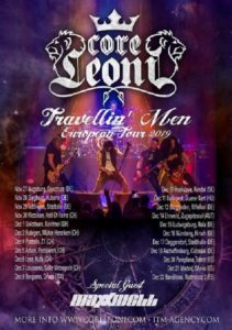 Coreleoni - European Tour 2019