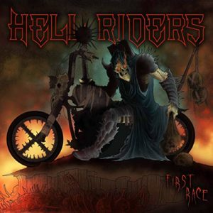 Hell Riders – First Race (CD Cover Artwork)